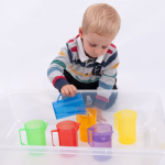 Translucent Colour Jug Set Set of 6